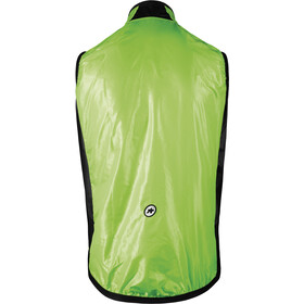 ASSOS Mille GT Chaleco Cortavientos Hombre, visibility green